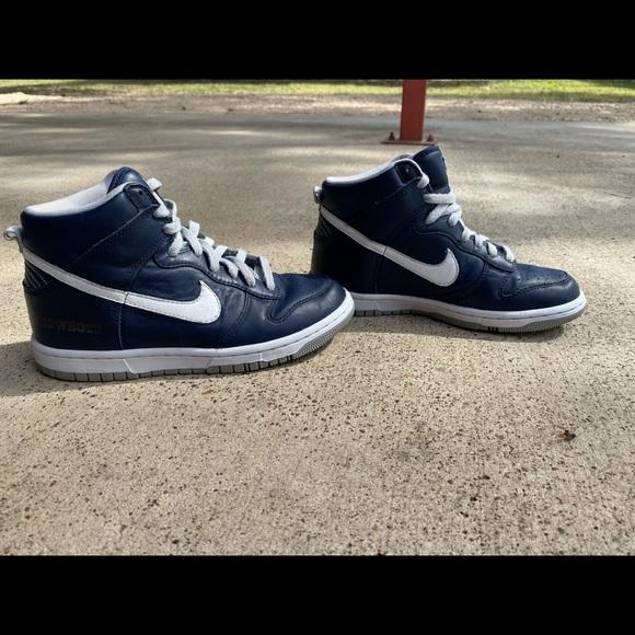 dallas cowboy nike shoes